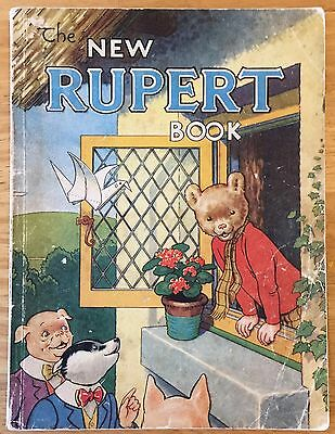 RUPERT ORIGINAL ANNUAL 1946 Inscribed in Pencil Not Price-clipped VG