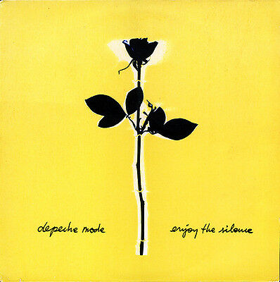 "Depeche Mode‎–Enjoy The Silence 1990 UK 12"" Single -Limited Edition Remix EX/ EX"