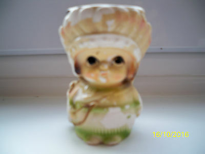 Vintage/Collectable INDIAN SQUAW Egg Cup