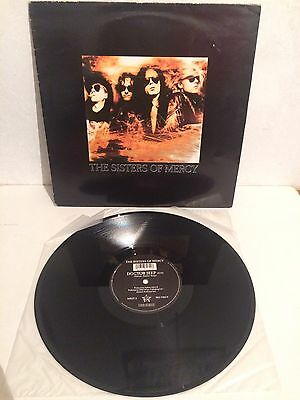 "The Sisters Of Mercy - Doctor Jeep  12"" Maxi Vinyl MR51T VG+/EX-"