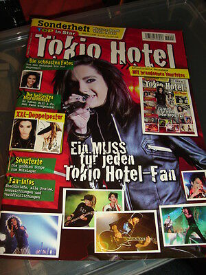 Tokio Hotel TOP IN STAR Poster Book German Great Condition