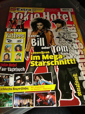 Tokio Hotel OOPS! Poster  Picture Book 01/2009 German Great Condition