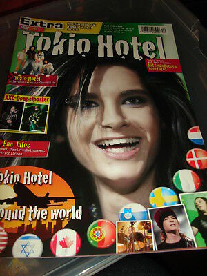 Tokio Hotel STAR GUIDE Poster  Picture Book 2/2008 German Great Condition