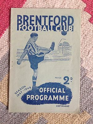 Brentford v West Brom 1947/48
