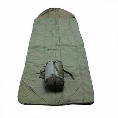 Genuine Army Issue Sleeping Bag, WIth Compression Sack, New.