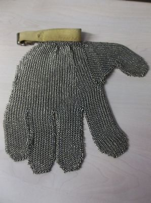 Cut Proof Stab Resistant Stainless Steel Wire Mesh Butcher Glove  (B1)