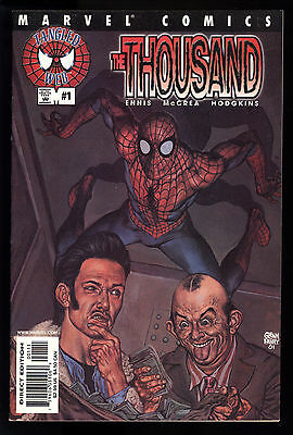 Tangled Web: The Thousand (2001) #1 First Printing Non-Card Cvr Recalled VF/NM