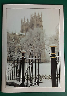 C1992 York City -  Rare Vip Christmas Card Issued By The Football Club