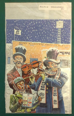 C1990 Bolton Wanderers Rare Vip Christmas Card Issued By The Football Club