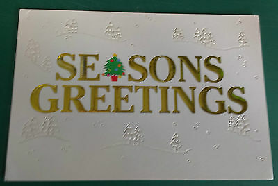 C1990S Irish Fa -  Vip Christmas Card Issued By The Northern Ireland Fa