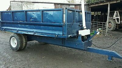 Tipping trailer for Tractor NO VAT