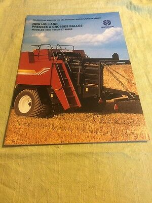 Brochure Prospectus Presse New Holland