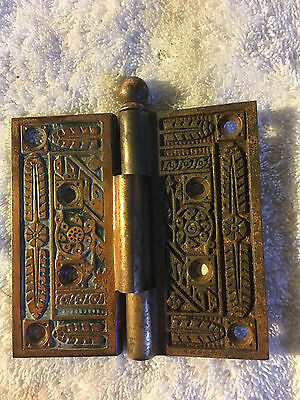 No. 37 Antique Victorian Door Hinge Hinges Brass