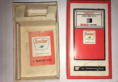 Sinclair Oil Transistor Radio Dino Supreme Advertising Give Away