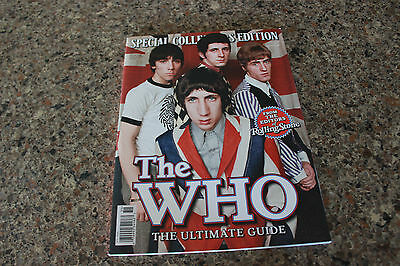 THE WHO ULTIMATE GUIDE  Rolling Stone Magazine COLLECTORS EDITION