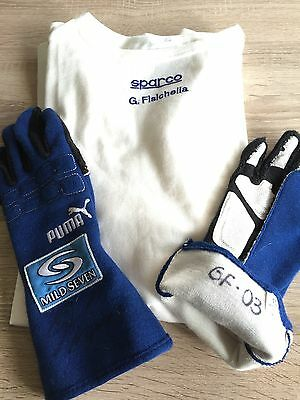 F1 Gloves/nomex Used By Fisichella