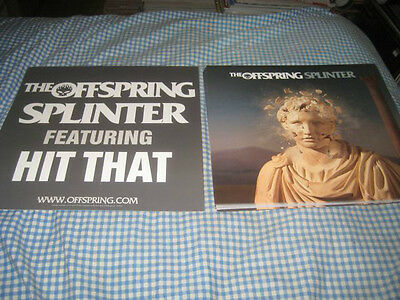 THE OFFSPRING-(splinter)-1 POSTER FLAT-2 SIDED-12X12-NMINT-RARE