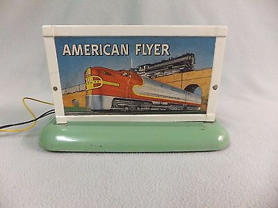 American Flyer 566 Circus Whistling Billboard plus extra shell