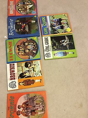 Brownie And Girl Guide Annuals Albums 1970 1972 Vintage Books