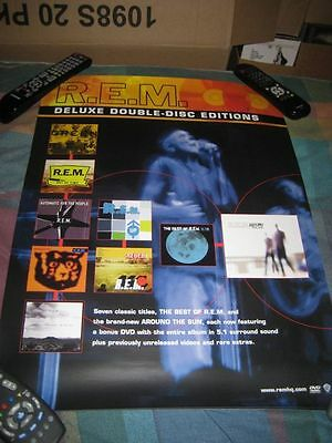 R.E.M.-(deluxe edition)-1 POSTER-18X24-NMINT-RARE
