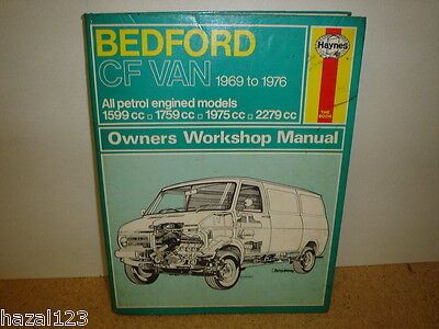 Haynes Bedford CF Workshop Manual - 1969 to 1976 - Good Condition
