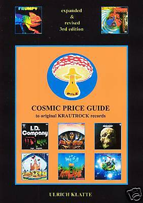 COSMIC PRICE GUIDE to KRAUTROCK worldwide free shipping
