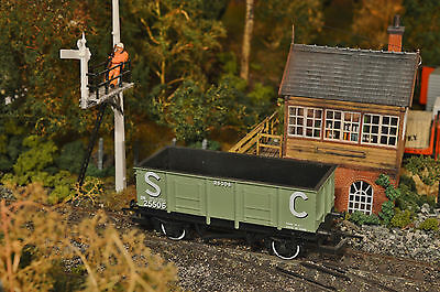 """Hornby """"oo"""" R564, 24 Ton Sc Open Mineral Wagon,25506 Complete, Damage Free, Vgc"""