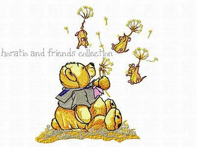 Horatio And Friends Collection  ~ Designs In Machine Embroidery On Cd