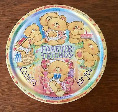 Collectable Forever Friends Biscuit Tin 1996 - The Andrew Brownsword Collection
