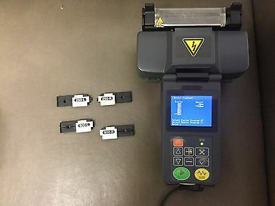 Fitel S122 Hand Held Fusion Splicer With S323 Fiber Cleaver - 250 and 900 micron