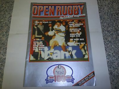 1987 Open Rugby Magazine