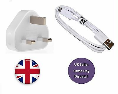 Mains Charger / Usb Data Cable For Samsung Galaxy Phones S4 S5 S6 Edge