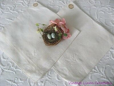 AnTiQuE MADEIRA Monogram P EMBROIDERED Wedding VINTAGE BRIDAL HANKY 2 Available