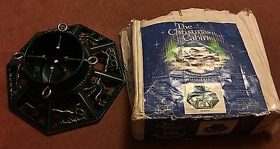 The Christmas Cabin Cast Iron Christmas Tree Stand Ts-10-14Sp - Used