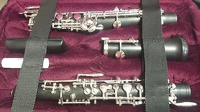 Hautbois Oboe Bulgheroni 091/3 Semiautomatic with third octave key