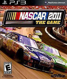 Playstation 3 NASCAR The Game 2011 Game COMPLETE