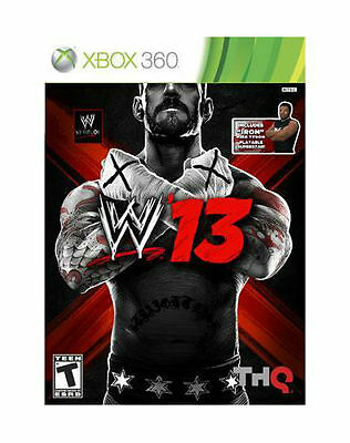 XBOX 360 WWE 13 Game COMPLETE