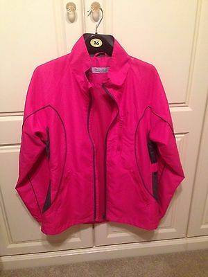 Ladies Golf Jacket - Pink - Size Small.