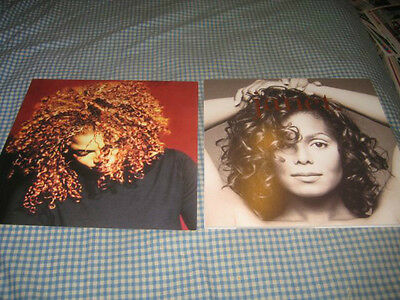 JANET JACKSON-(janet.)-1 POSTER FLAT-2 SIDED-12X12-NMINT-RARE