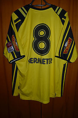 Bsc Young Boys Switzerland Match Worn Issue Football Shirt Jersey Gems Sermeter