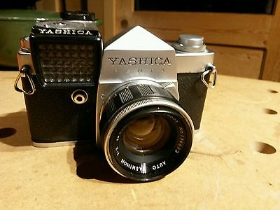 Yashica Penta 35mm Film Camera Vintage Japanese photography ~ Yashinon 50/2 Lens