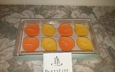 Partylite Floater Candles Fruit Punch / Set of 8