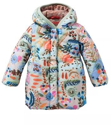 Oilily Catalina All Over Painterly Coat BNWT 8 Years
