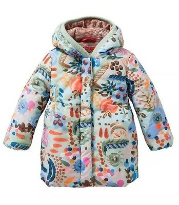 Oilily Catalina All Over Painterly Coat BNWT 5 Years