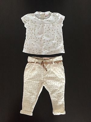 Gorgeous Zara Baby girl 2 Piece Outfit 3-6 Months ��