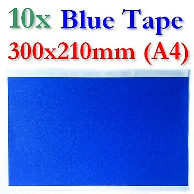 10x XL Blue Tape Blatt 3M 3D Drucker Printer Heatbed Printbed Masking Sheet XYZ