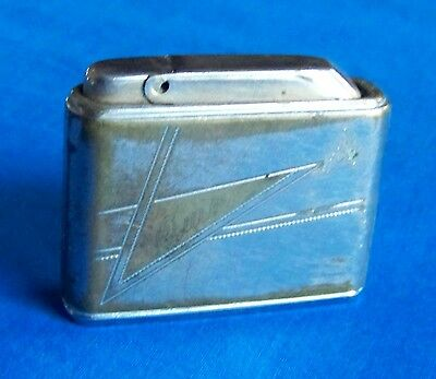Vintage Cigarette Lighter Colibri S23 Monogas Made West Germany Engraved Quin