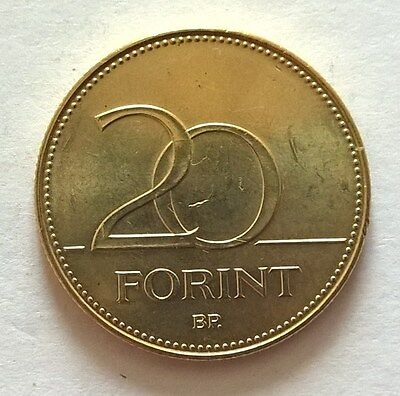 Hungary 20 forint 2016 coin