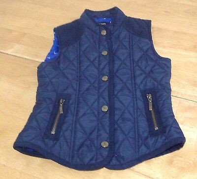 J Jeans By Jasper Conran Girls Navy Gillet  Age 8 ��lovely ��
