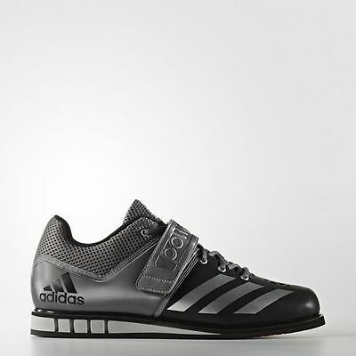 Adidas Men's Weightlifting Powerlift 3 Shoes Aq3330 Black/silver
